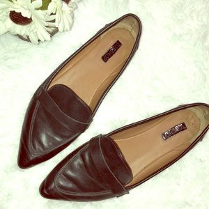 Top shop pointed loafer flats